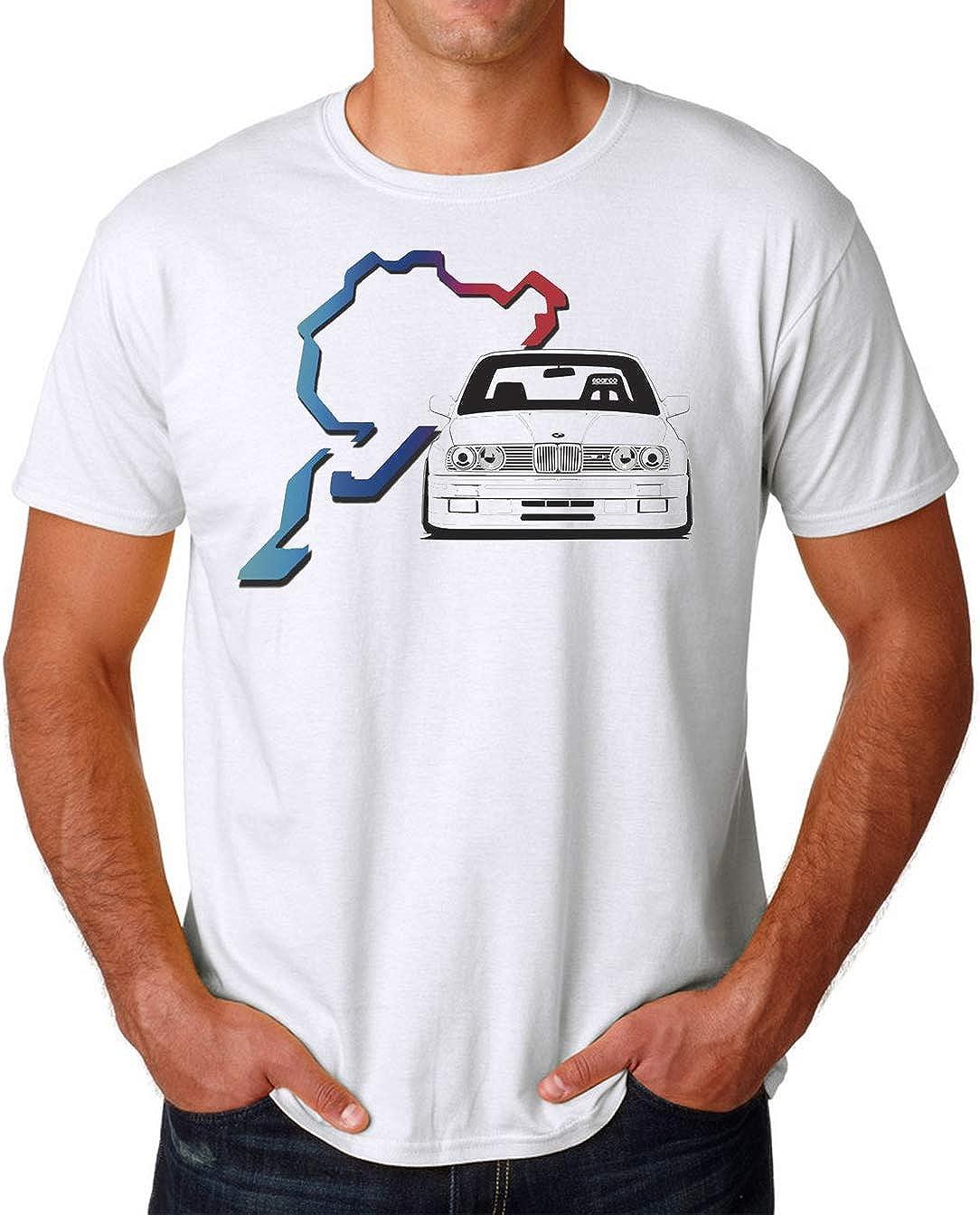 PasTomka E30 Nurburgring Bimmer Mens T-Shirt Hombre Camiseta ...