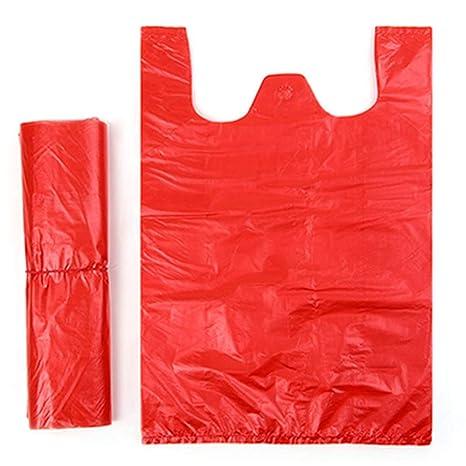 Bolsas de plástico resistentes para camisetas de 19 x 26,5 ...