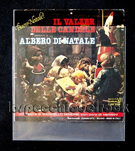 50-Buste-Per-Dischi-Vinile-45-Giri-in-Polietilene-100-My-Produzione-Italiana