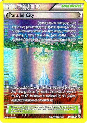 Pokemon - Parallel City (145/162) - XY Breakthrough - Reverse Holo