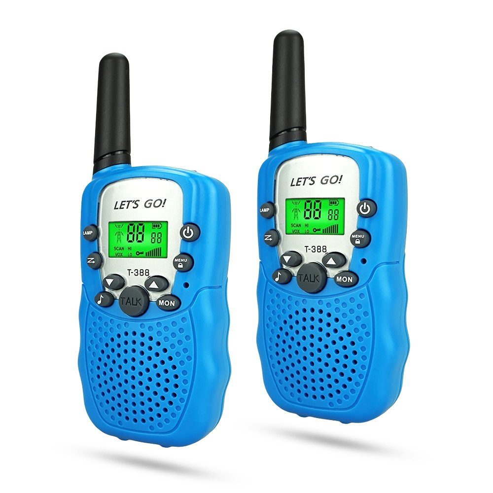 Friday Outside Outdoor Sporting Learning Autistic Hunting Travel Toys for Kids Boys, Walkie Talkies for Kids Gifts Toys for 5-10 Year Old Boys BestTopToysfor5-8YearOldBoys Blue FDUSWT02