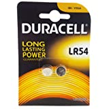 Duracell Specialty Lr44 Alkaline Button Battery 1,5V, Pack Of 2 (76A / A76 / V13Ga)