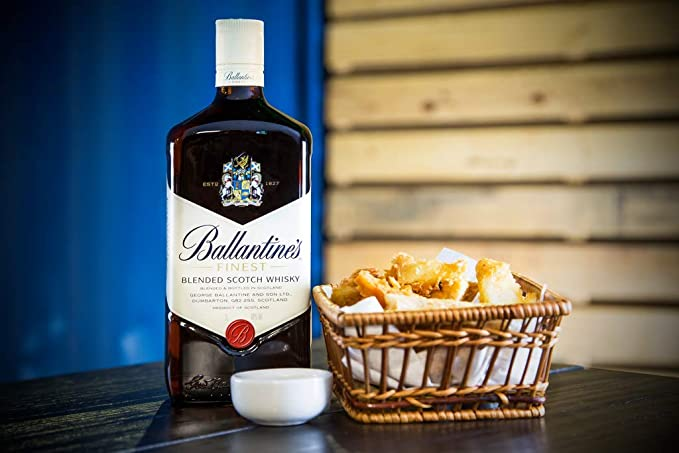 Whisky Ballantines Finest Blended Scotch 1,5L: Amazon.es: Alimentación y bebidas