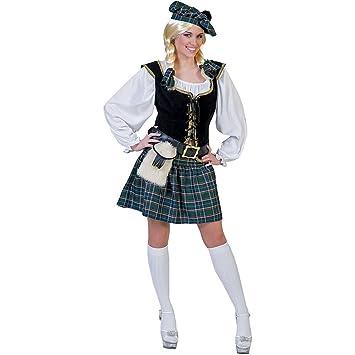 Disfraz escocesa mujer - L