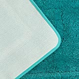 "Pauwer Turquoise Bath Rug Set 2 Piece 21"" x"