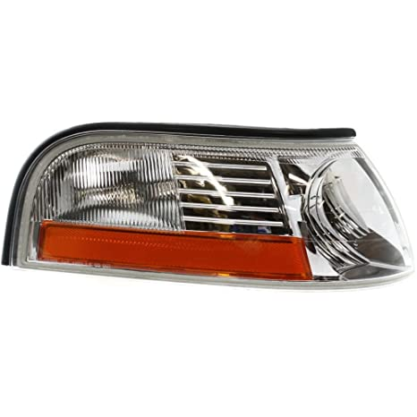 Corner Light for Mercury Cougar 89-95 Corner Lamp LH Lens and Housing Left Side