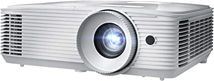 Optoma EH412 1080P HDR DLP Professional Projector | Super Bright 4500 Lumens | Business Presentations, Classrooms, and Meeting Rooms | 15000 Hour Lamp ...