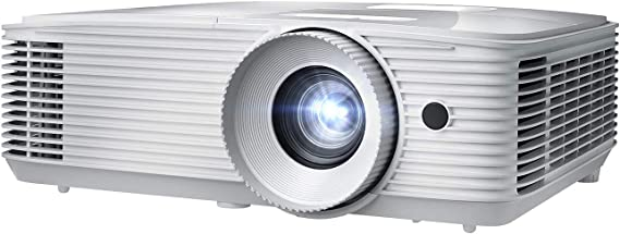 Optoma EH412 1080P HDR DLP Professional Projector | Super Bright 4500 Lumens | Business Presentations