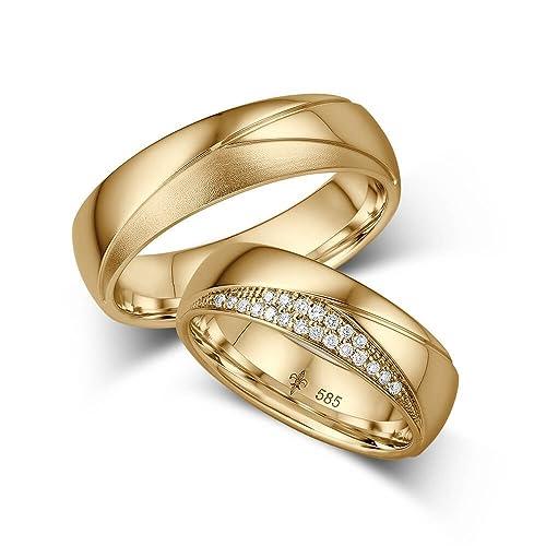 compromiso con diamante /& grabado láser 2 anillos de titanio alianzas alianzas de amistad
