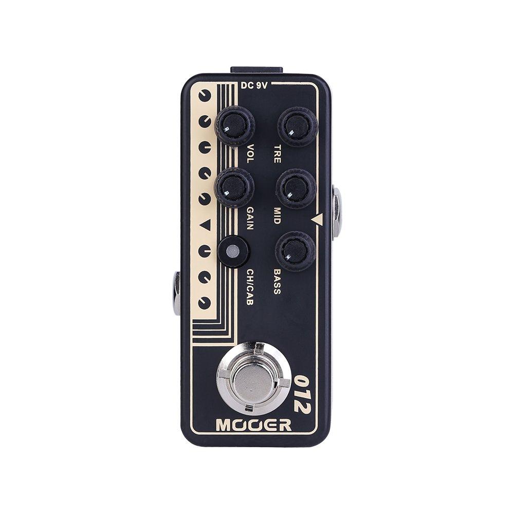 MOOER Guitar Digital Preamp (012 US Gold 100)