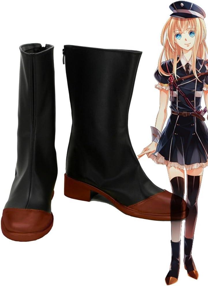 Telacos Touken Ranbu Online Game Midare Toushirou Cosplay Shoes Boots Custom Made