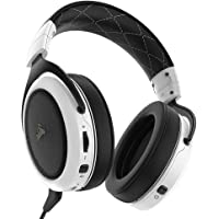 Corsair HS70 Wireless Gaming Headset with 7.1 Surround Sound - White
