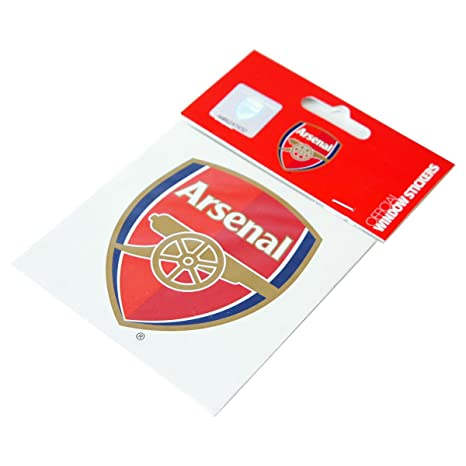 Arsenal F.C. Window Sticker WS  Amazon.in  GoalSquadShop 43d582343