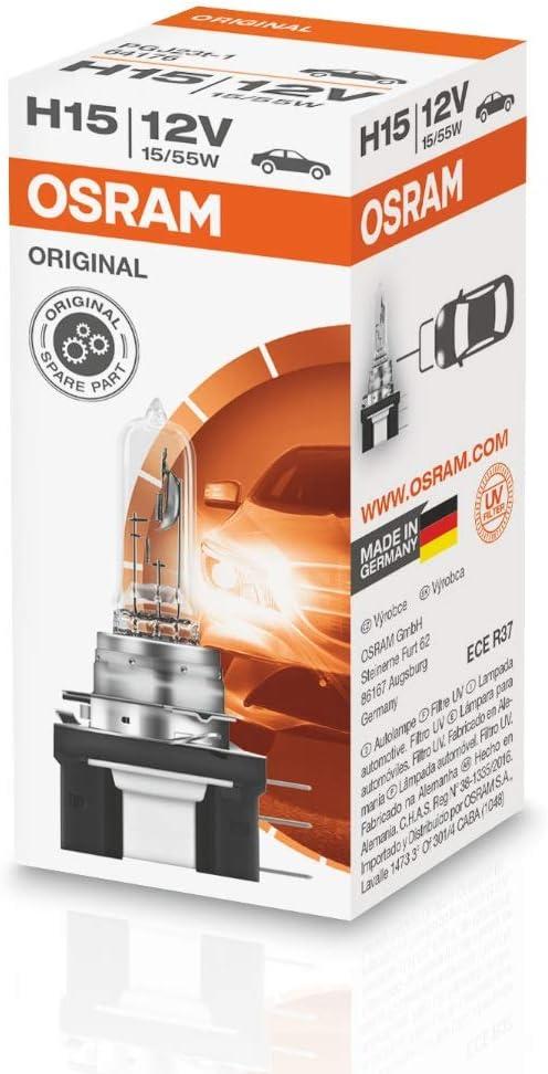 Aerzetix 2 x lampadine luce auto H15 12V 15//55W .