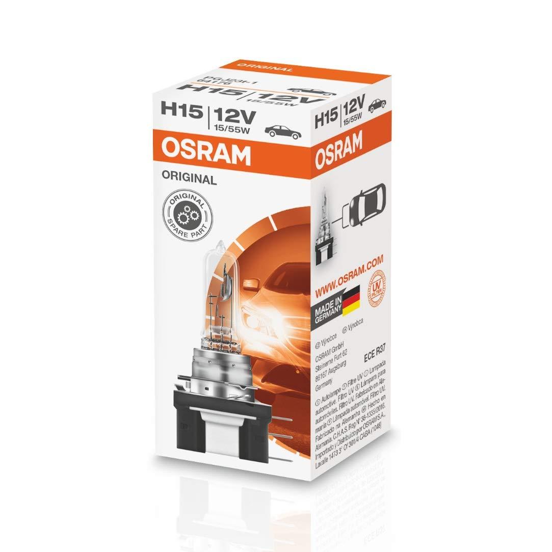 OSRAM Original 12V H15 halogen headLampe bulb 64176 1 piece en bo/îte