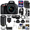 Nikon D5600 Wi-Fi Digital SLR Camera with 18-55mm VR Reviews