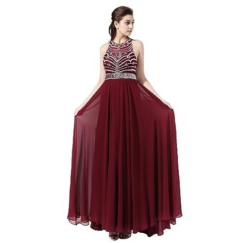 Maroon Prom Dresses: Amazon.com