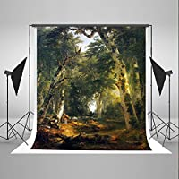 Kate 5x6.5feet Fairy Tale Forest Photo Background Cloth Retro Forest Backdrop for Children Photography