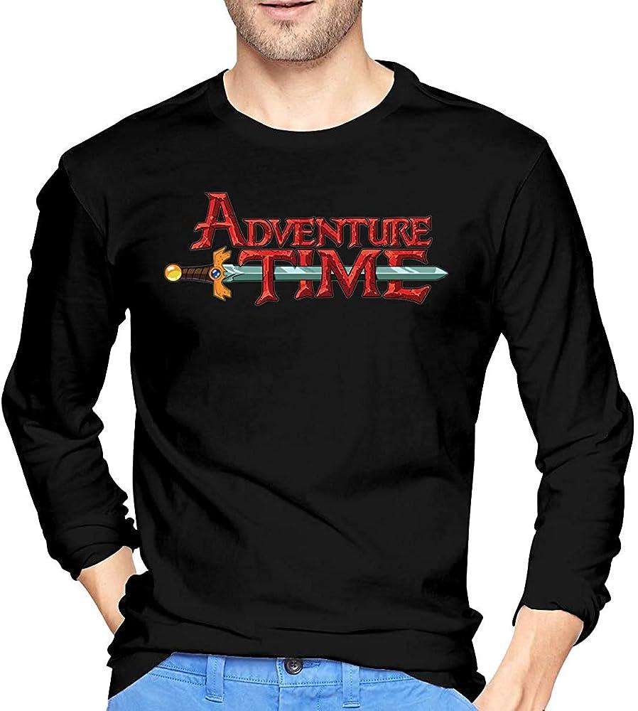 Thimd Adventure Time Camiseta de Exterior de Manga Larga Suave ...