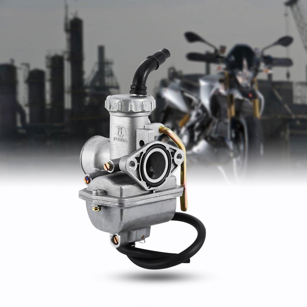 Qiilu Pour PZ20 50cc 70cc 90cc 110cc 125cc ATV Quad Carburateur CARB TAOTAO SUNL NOUVEAU