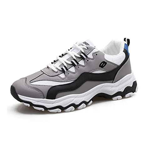Amazon.com: Mens Casual Sneakers, Running Shoes 2019 Autumn Mens Casual Shoes Fashion Sports Shoes Students Tide Shoes (Color : B, Size : 39): Garden & ...