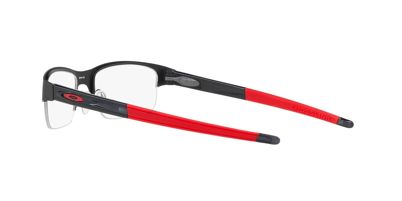 1809cea687ead OAKLEY OX3226 - 322601 CROSSLINK 0.5 Eyeglasses 55mm at Amazon Men s  Clothing store