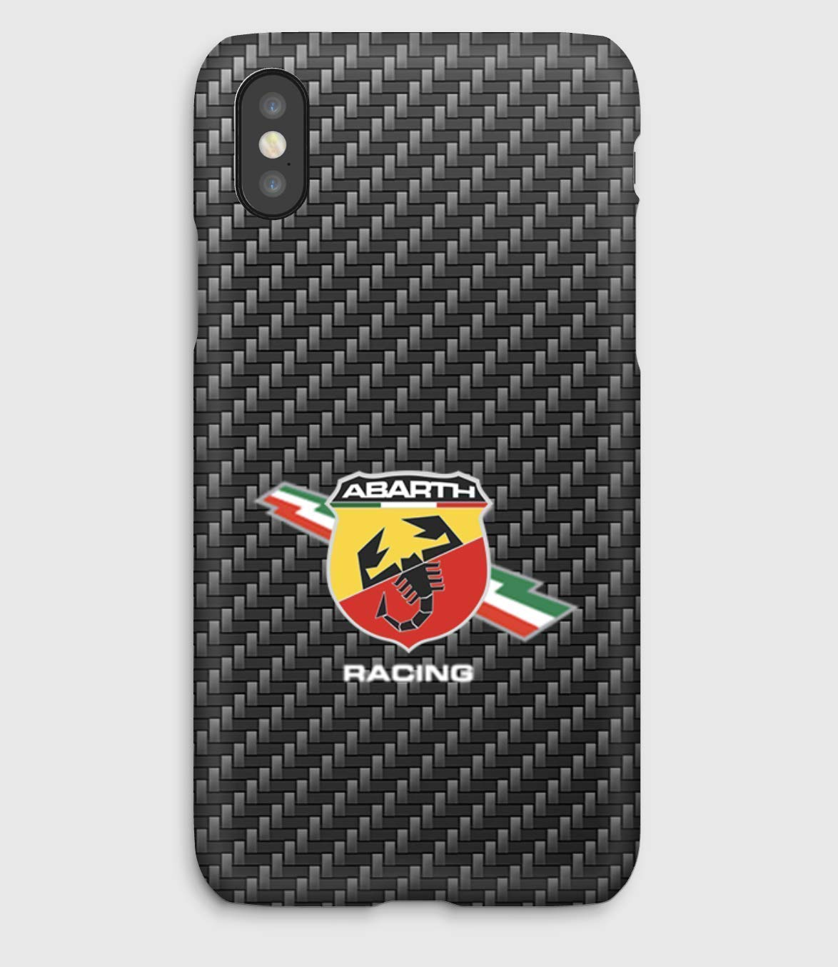 Abarth Racing, coque pour iPhone XS, XS Max, XR, X, 8, 8+, 7, 7+, 6S, 6, 6S+, 6+, 5C, 5, 5S, 5SE, 4S, 4,