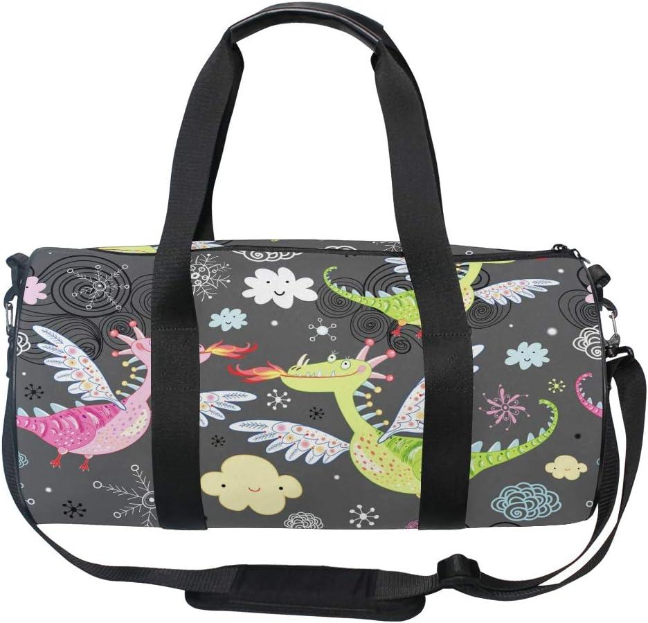 Fire Dragon Weekender//Overnighter Bag
