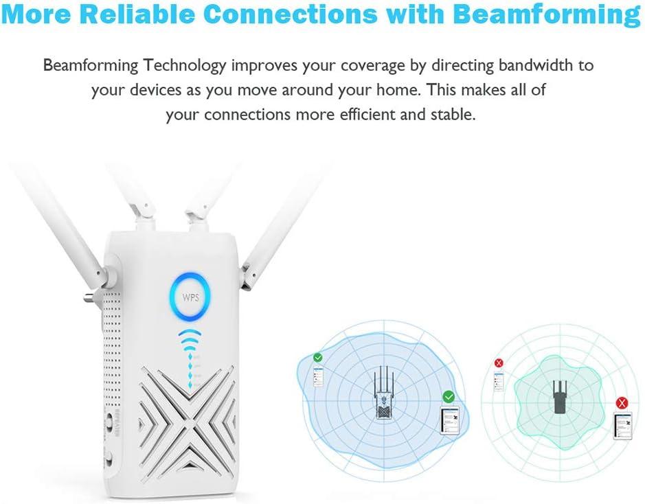 Netgear Wi-Fi Range Extender EX6120-Copertura fino a 1200 piedi quadri e dispositivi 20