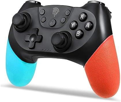 EasySMX Mandos Inalámbricos Switch, Mandos Gaming Bluetooth para ...