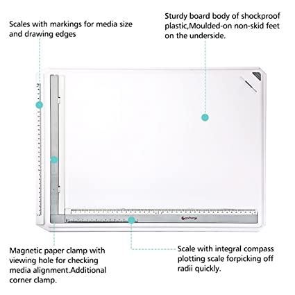 amazon com gochange drawing board a3 drawing tool set multi