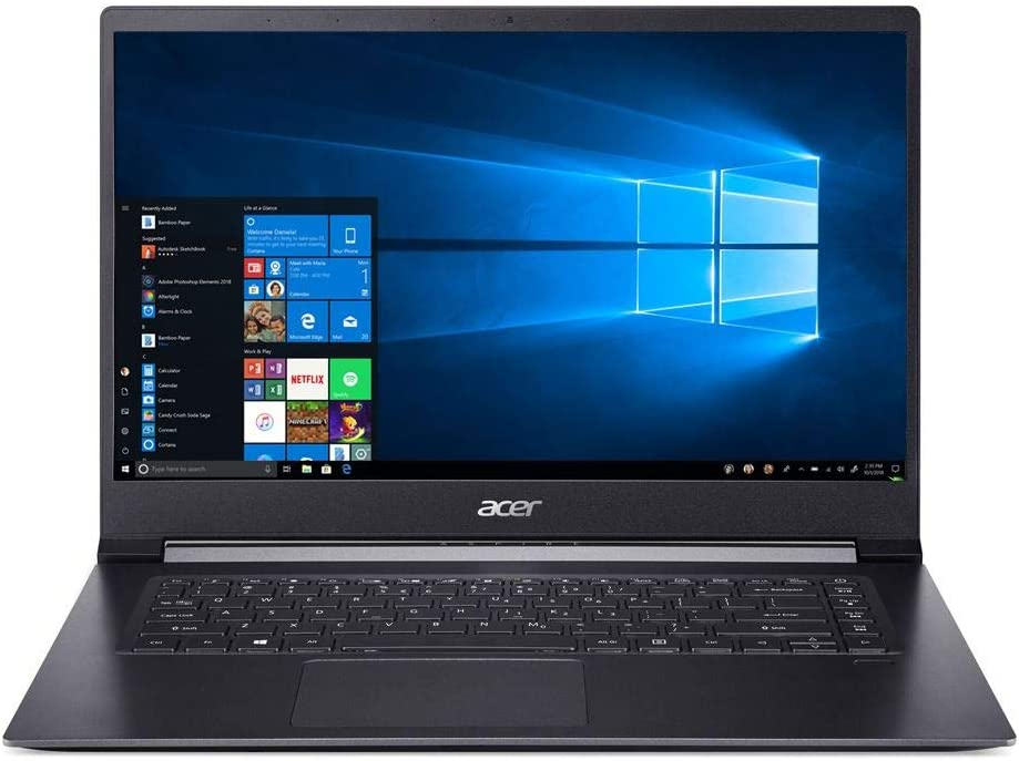Acer Aspire 7 Laptop Intel Core i7-8705G 3.10GHz 8GB Ram 512GB SSD Windows 10 Home (Renewed)