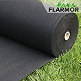 FLARMOR Landscape Fabric Heavy Duty - Weed Barrier Landscape Fabric - Weed Blocker - Garden Fabric Roll - Commercial Weed Control Fabric 3 Ft X 300 Ft