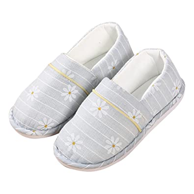 Amazon.com: Buyitnow para mujer de algodón suave suela ...
