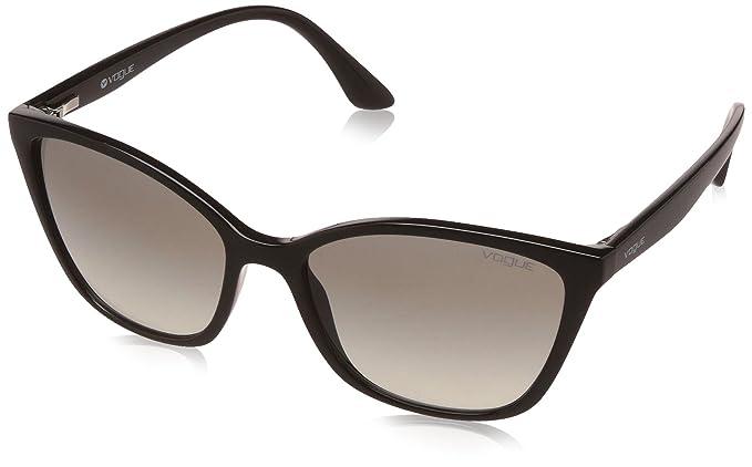 Womens 0VO5060S W656T5 Sunglasses, Havana/Polarbrowngradient, 53 Vogue