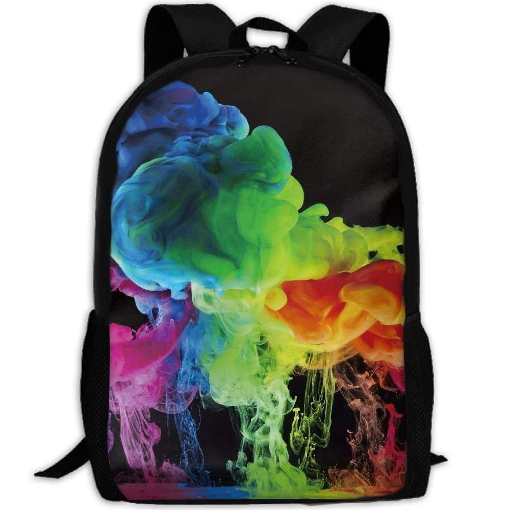 color19 One_Size Backpack Adult Sea Animal Harbor Seal Unique Shoulders Bag Daypacks