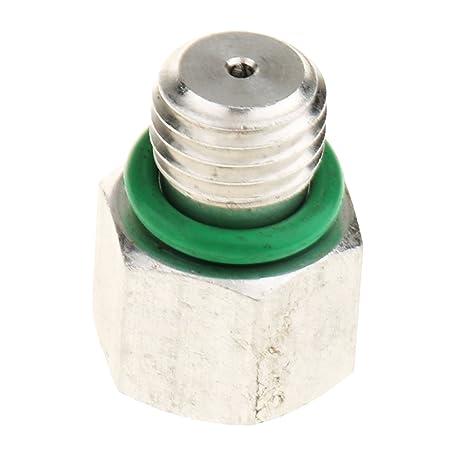 MagiDeal Válvula de Alivio de Presión de Compresor Aire Acondicionado para Coche 1.25mmx20mm