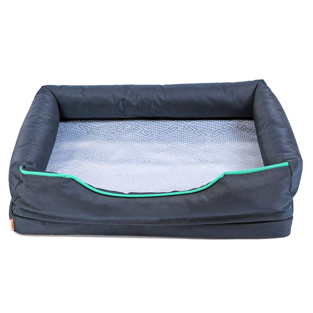 1002XS Pet Nest, Kennel Summer Sleeping, Cold Nest, Dog House, Indoor Large Dog Pet Water Bed, Summer Dog Supplies (color   1002XS)