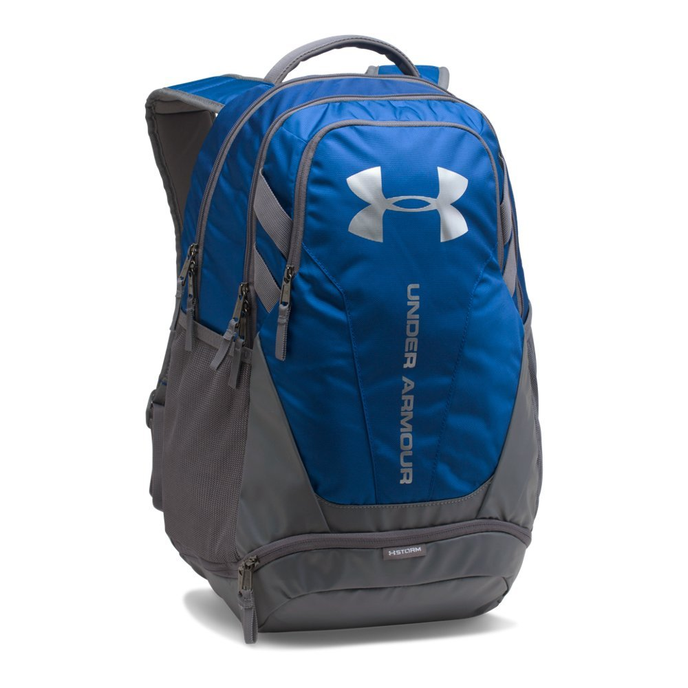 Under Armour Hustle 3.0 backpack,Royal (400)/Silver, One Size