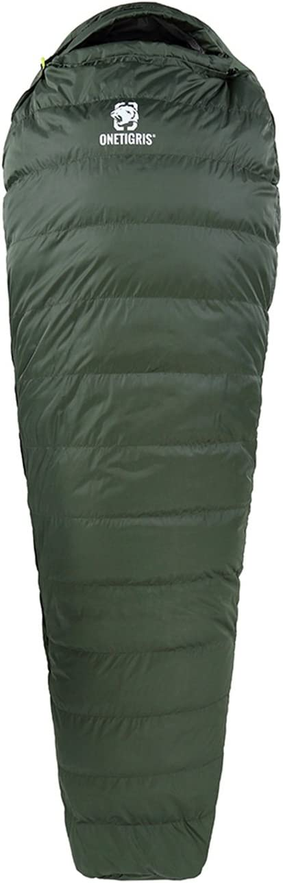 1T Duck Down Sleeping Bag Ultralight with Stuff Sack