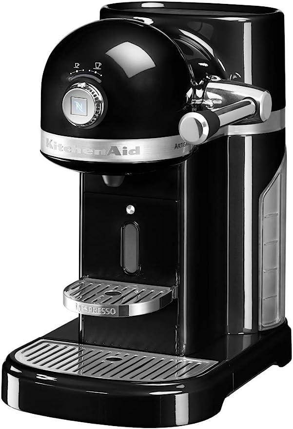 KitchenAid - Kit de cafetera Nespresso negro Onyx,: Amazon.es: Hogar