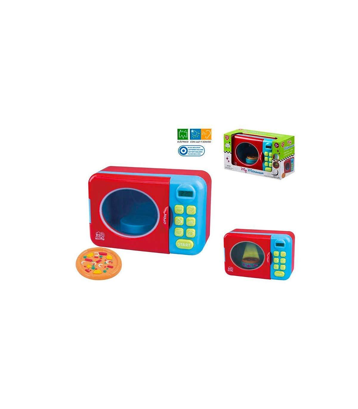 ColorBaby- Microondas luz y Sonido 27x12x16 cm, (Color Baby 44580)