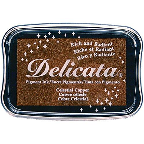 Tsukineko Delicata Celestial Copper Metallic Pigment Inkpad,