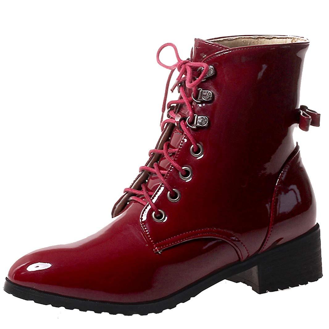 brand new ef0dc a5293 ... Mavirs Womens Maatp Block Heel Ankle-high 4 cm Boots Boots Boots  B07GJ8D4LS Boots d6a38f ...