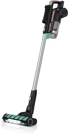 IKOHS MAMBO VG301 - Aspiradora vertical sin Cable 3 en 1, Aspirador escoba y de mano sin bolsa, portátil para hogar, con Filtro HEPA, Batería 25,9V, deposito con 600ml, multifuncional, muy silencioso: