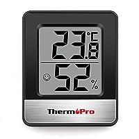 ThermoPro温度計 ブラックTP49