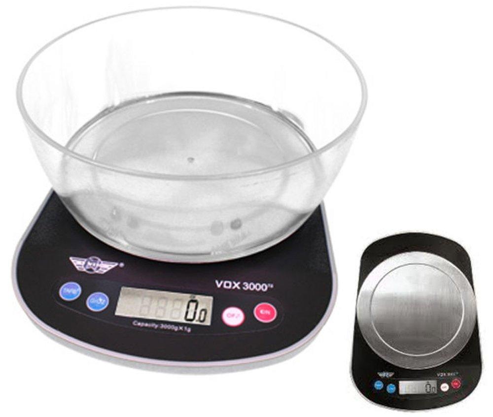 Vox 3000g de cuisine parlante postal balance numérique My Weigh