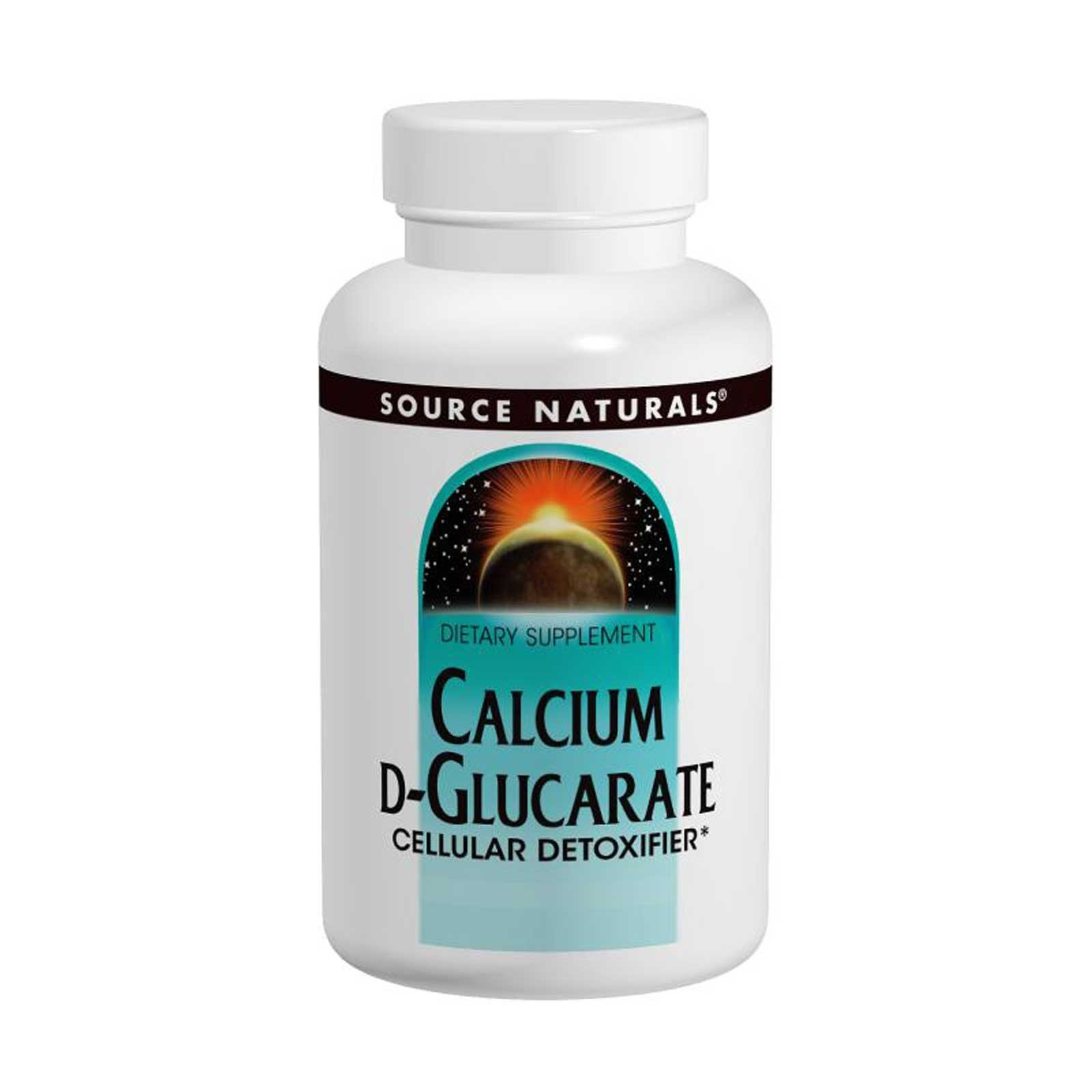 Source Naturals, Calcium D-Glucarate, 500 mg, 120 Tablets - 3PC