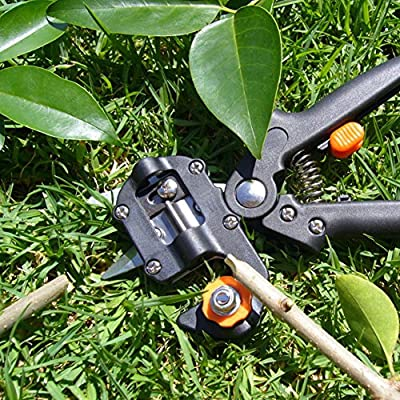 Professional Garden Tree Pruning Shear Grafting Cutting Tool with 2 Blades DE