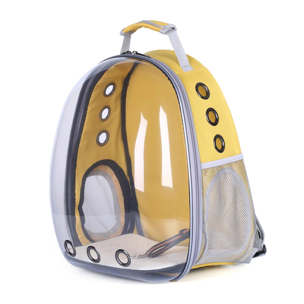 ForHe Pet Portable Carrier Space Capsule Backpack, Pet Bubble Traveler Knapsack Waterproof Lightweight for Cats Small Dogs & Petite Animals (7 Colors) by ForHe